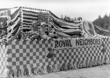 Fourth of July, 1938, Royal Neighbors float, Kittitas County, Washington - 1 of 2