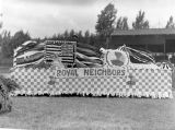 Fourth of July, 1938, Royal Neighbors float, Kittitas County, Washington - 2 of 2