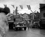 Liberty Float in Parade, July 4, 1936