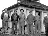 Group at Polallie Ridge Fire Station, August 31, 1937