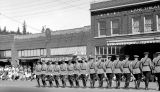 Tacoma Police Dept Drill Team, September 07, 1936