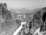 Looking SE from summit of Snoqualmie Mt, July 9, 1937