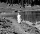 Selena at Tipsol Lake, August 11, 1936