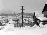 View of Roslyn from near the Bromley's house, March, 1936