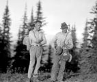 Pio Panieri and Walter Zrebeic near North Ridge, September, 1935