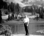 Pio at Tipsol Lake, August, 1936