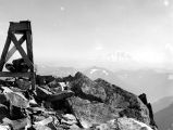 Rainier from summit of Snoqualmie Mt, July 9, 1937