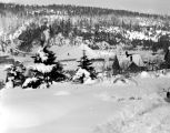 Roslyn scene from near Panieri family home, March, 1936