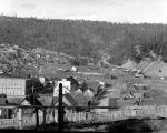 Roslyn towards mine dumps, April 18, 1937