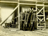 Box car loader, circa early 1900s - 2