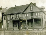 Halstad Hotel, circa early 1900s