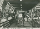 Company Store, Grocery Department