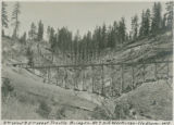 3rd west & 5th west trestle bridges - no 7 hill workings - Cle Elum Wn
