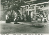 Corliss engine and steam turbine