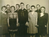 Dorothy Hayes Roletto family photo, 1945