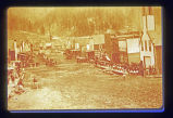 1892 mine disaster: funeral procession