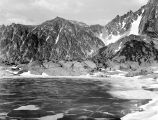 Ingalls Lake with ice, June 22, 1941