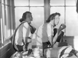 Jolly Mountain lookout, Agnes and Margaret, 1938