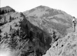 Mount Baldy in background, October 12, 1930