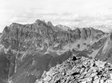 Alta Mountain, view of Chikamin Ridge, 1941