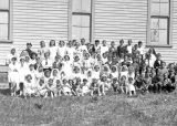 First Communion Catholic Class, summer 1939