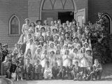 First Communion Class, Cle Elum, summer 1942