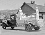 Fourth of July, R.C.B.A. float, Roslyn, Washington, 1933