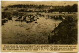 Purse seining for salmon at Kanaka Bay in 1911