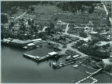 Aerial view of Friday Harbor