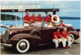 Friday Harbor Jazz Festival postcard