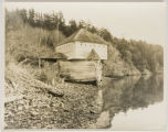 Blockhouse at English Camp from the water