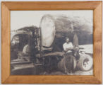 Wilfred A. Rouleau and logging truck