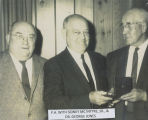 Sidney McIntyre, P.A. Stendal, and George Jones