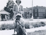 Laverne Donnelly and Micheline Daniels with camera