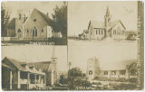 Postcard of Sedro-Woolley churches