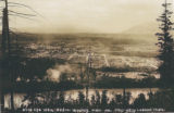 Bird's-eye view of Sedro-Woolley