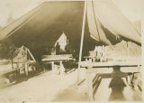 Recreation Tent at Twin Buttes CCC camp