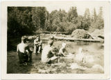 Swimmers at Rock Creek