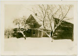 Skaar home in deep snow