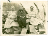Three sisters, Mrs. Menece, Mrs. Berge and Grandma Erickson