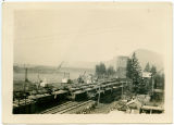 Building the first Bonneville Dam on the Columbia River