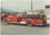 Fire engine - North Bonneville