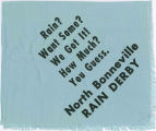 North Bonneville Rain Derby scarf