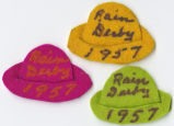 North Bonneville Rain Derby felt hats
