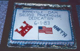 North Bonneville dedication cake