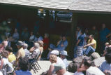 Crowd at North Bonneville dedication
