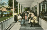 Veranda, Collins Hot Springs Hotel
