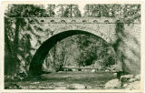 No. 17 Eagle Creek Bridge on Columbia River Highway, Ore. B.C. Markham, The Dalles, Ore.