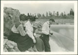Kettle Falls 1918 Photo Album photograph 20: Upper falls