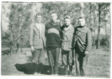 Boys from Kettle Falls: Paul Williams, Hugh Ferguson, Brick Folson, and Keith Richards